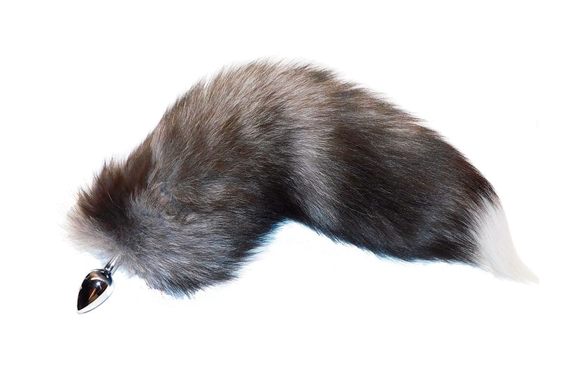 butt plug tail real fur